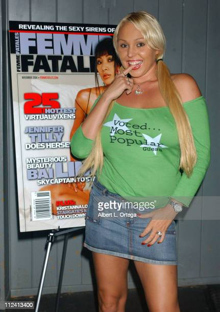 Mary Carey during Femme Fatale Magazine Release Party at Club Good Hurt in Los Angeles California United States
