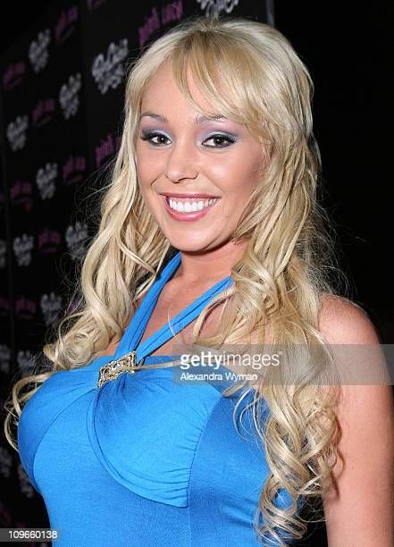 Mary Carey during Grand Opening Party for Harry Morton's Pink Taco in Century City at Westfield Century City Mall in Century City California United...