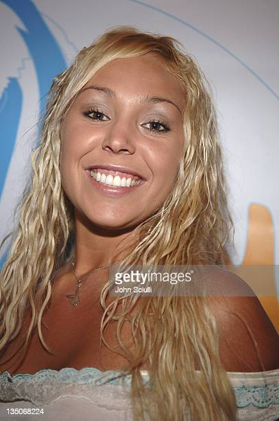Mary Carey during Quiksilver and Roxy Crossing Party at Sunset Room in Malibu CA United States