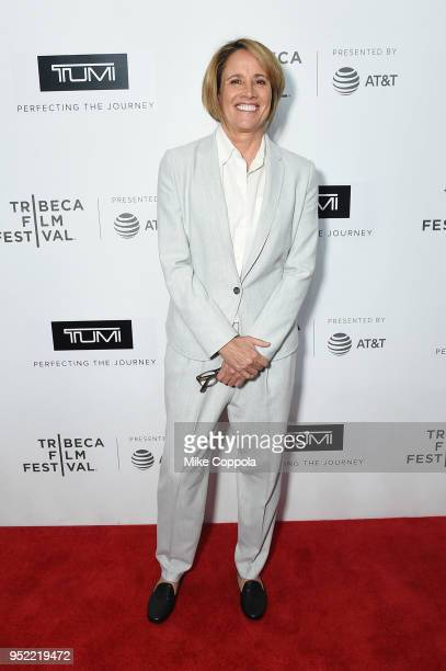 Mary Carillo attends The Journey With Sarah Jessica Parker during the 2018 Tribeca Film Festival at Spring Studios on April 27 2018 in New York City