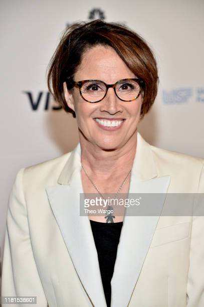 Mary Carillo attends The Women in Sports Foundation 40th Annual Salute to Women in Sports Awards Gala celebrating the most accomplished women in...