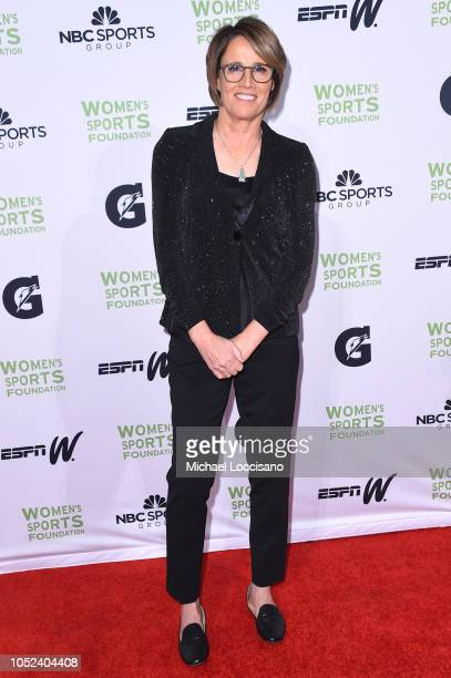 Mary Carillo attends The Women's Sports Foundation's 39th Annual Salute To Women In Sports And The Girls They Inspire Awards Gala on October 17 2018...