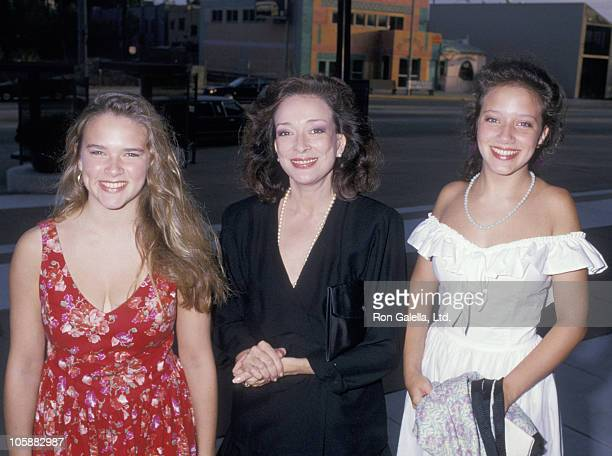 """Mary Carter, Dixie Carter and Ginna Carter during """"Designing Women"""" Party - August 28, 1987 at Pacific Design Center in Los Angeles, California,..."""