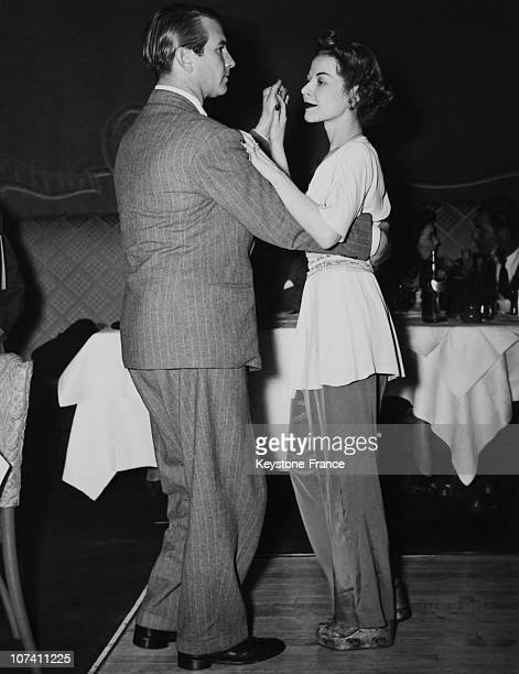 Mary Cassini Fahrney And Billy Riviere Dancing Rumba In New York