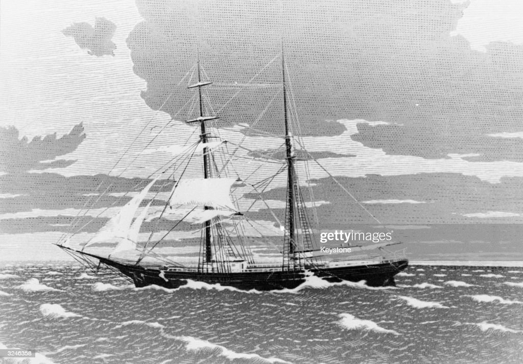 One of the most famous mysteries of all time, the Mary Celeste left harbour from Staten Island for Genoa on 7 November 1872. On 5 December she was found floating, deserted but seaworthy, off the Azores