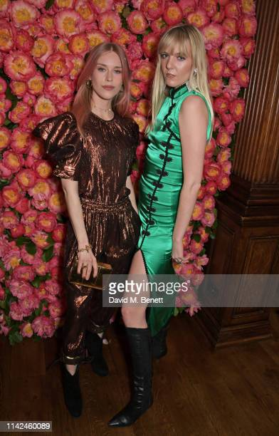 Mary Charteris and Jana Sascha Haveman attend a private dinner hosted by Michael Kors to celebrate the new Collection Bond St Flagship Townhouse...