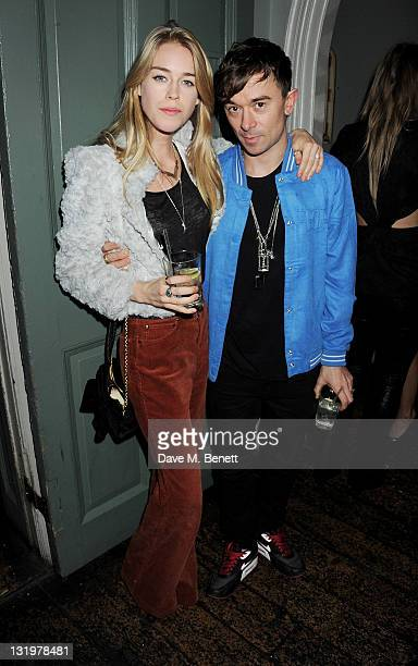 Mary Charteris and Robbie Furze attend the Alice Olivia Black Tie Carnival hosted by designer Stacey Bendet at Paradise by Way of Kensal Green on...