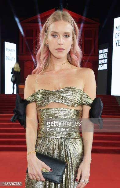 Mary Charteris arrives at The Fashion Awards 2019 held at Royal Albert Hall on December 2 2019 in London England