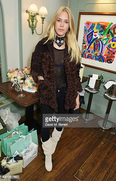 Mary Charteris attends Alice Naylor Leyland's baby shower at Daphne's on September 8 2015 in London England