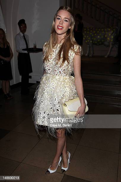 Mary Charteris attends The 2012 NSPCC Pop Art Ball co hosted by Natalia Vodianova and Stella McCartney in aid of the NSPCC's Rebuilding Childhoods...