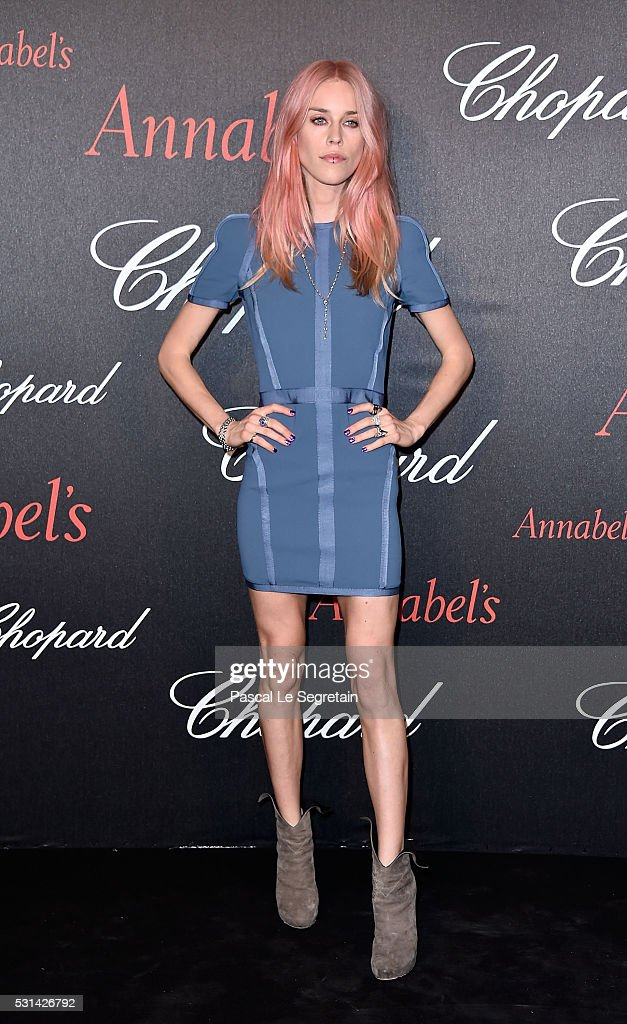 Mary Charteris attends the Chopard Gent's Party at Annabel's in Cannes during the 69th Cannes Film Festival on May 14, 2016 in Cannes, France.
