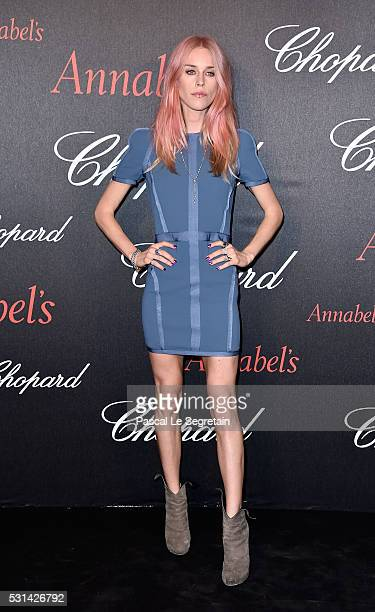 Mary Charteris attends the Chopard Gent's Party at Annabel's in Cannes during the 69th Cannes Film Festival on May 14 2016 in Cannes France