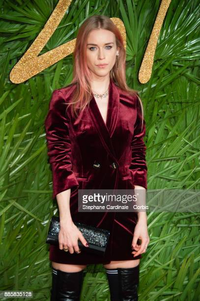 Mary Charteris attends the Fashion Awards 2017 In Partnership With Swarovski at Royal Albert Hall on December 4 2017 in London England