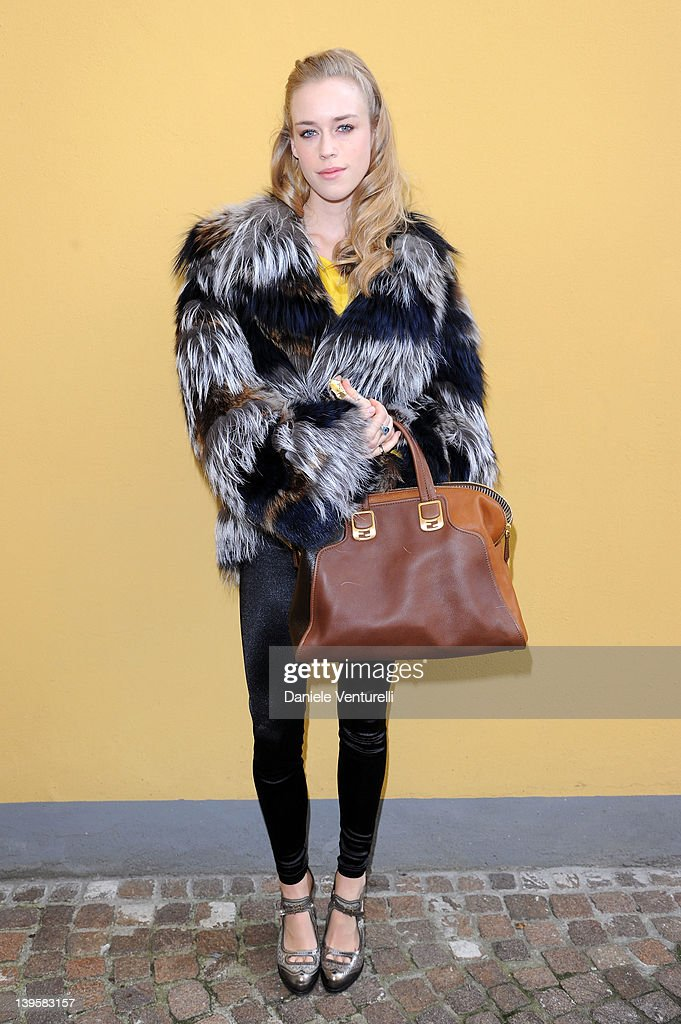 Fendi: Arrivals - Milan Fashion Week Womenswear Autumn/Winter 2012/2013