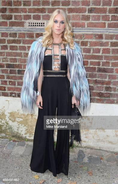 Mary Charteris attends the GILES show during London Fashion Week Spring Summer 2015 on September 15 2014 in London England