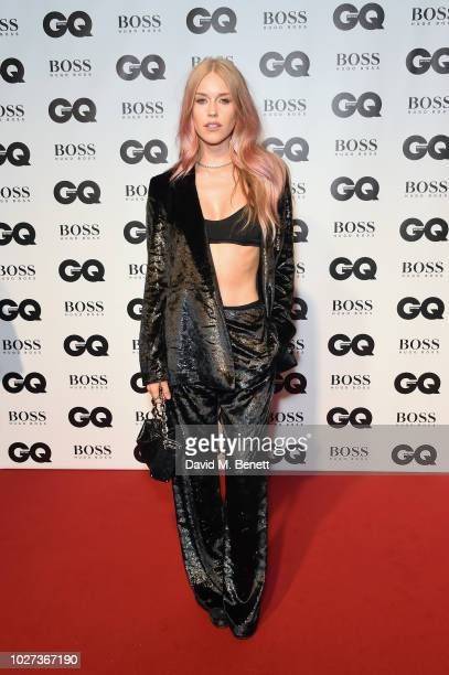Mary Charteris attends the GQ Men of the Year Awards 2018 in association with HUGO BOSS at Tate Modern on September 5 2018 in London England