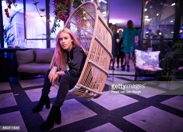 Mary Charteris attends the launch of Kimpton De Witt Amsterdam Kimpton Hotels Restaurants' debut in Europe on September 20 2017 in Amsterdam The...