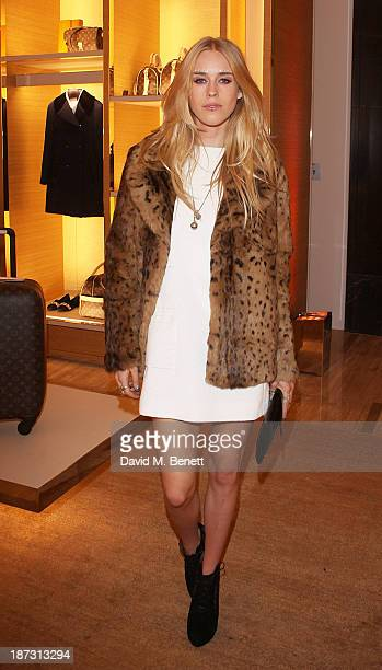 Mary Charteris attends the launch of Louis Vuitton Townhouse at Selfridges on November 7 2013 in London England