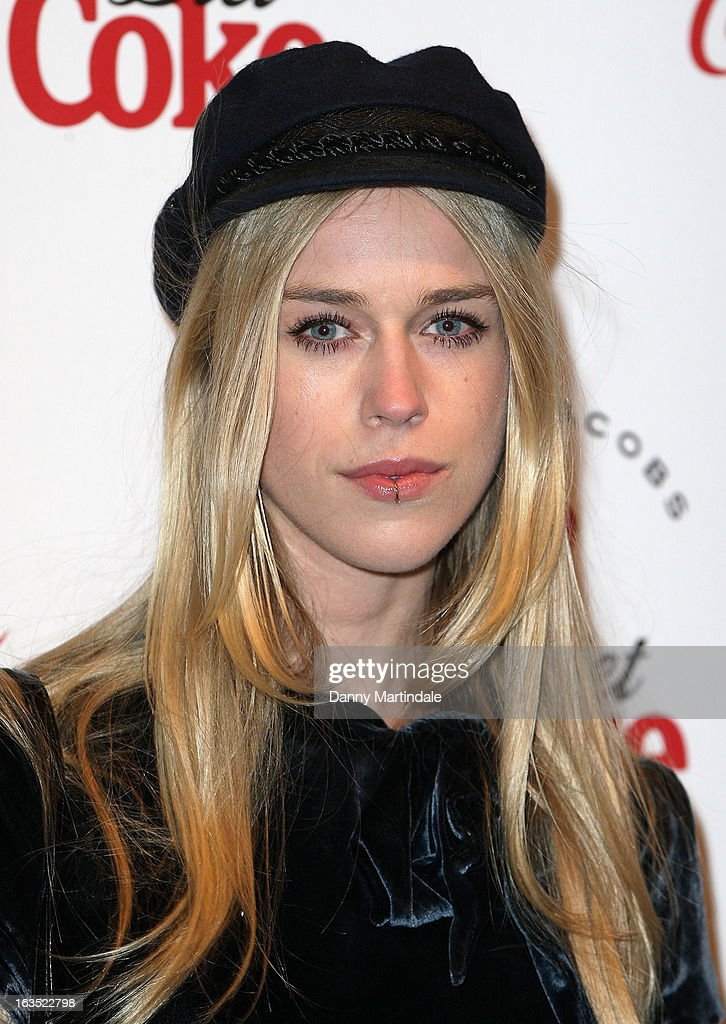 Mary Charteris attends the launch party announcing Marc Jacobs as the Creative Director for Diet Coke in 2013 on March 11, 2013 in London, England.