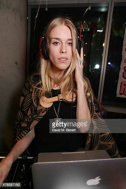 Mary Charteris attends the opening of luxury creative office space The Relay Building on June 10 2015 in London England