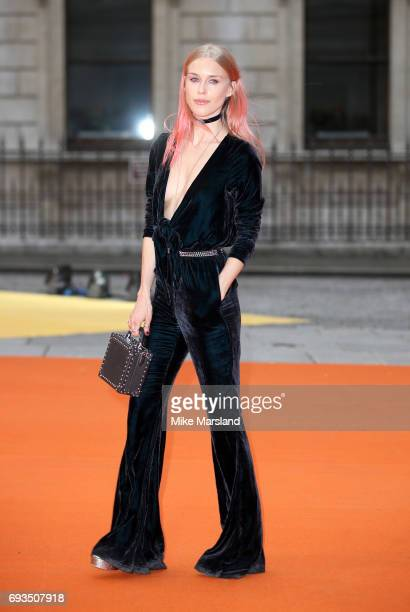 Mary Charteris attends the preview party for the Royal Academy Summer Exhibition at Royal Academy of Arts on June 7 2017 in London England