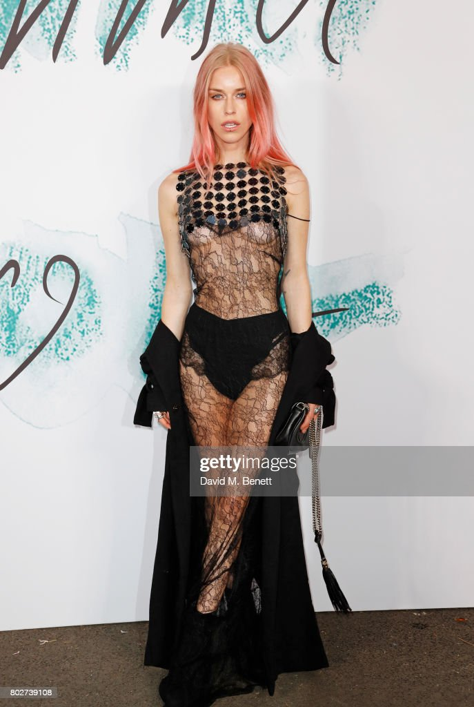 Mary Charteris attends The Serpentine Galleries Summer Party at The Serpentine Gallery on June 28, 2017 in London, England.