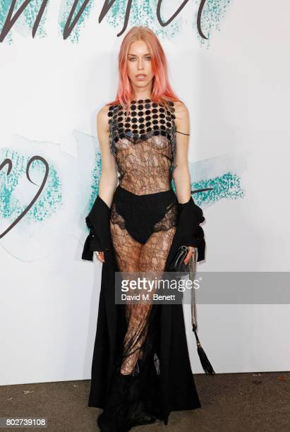 Mary Charteris attends The Serpentine Galleries Summer Party at The Serpentine Gallery on June 28 2017 in London England