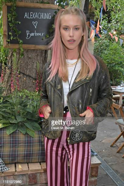 Mary Charteris attends the VIP London launch of the Barbour by ALEXACHUNG collection at The Albion on June 20 2019 in London England