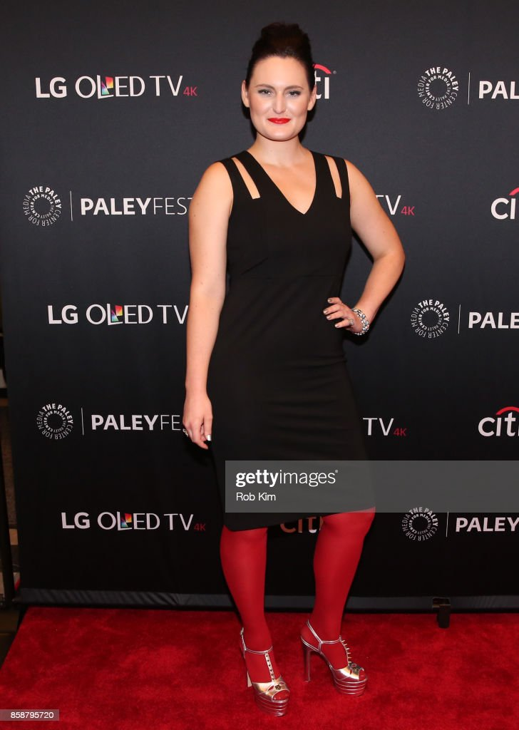 Mary Chieffo attends 'Star Trek: Discovery' at The Paley Center for Media on October 7, 2017 in New York City.