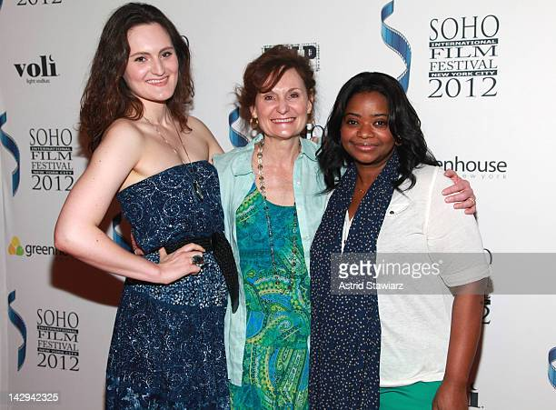 """Mary Chieffo, Beth Grant and Octavia Spencer attend the 2012 Soho International Film Festival Screening Of """"The Perfect Fit"""" at Landmark Sunshine..."""