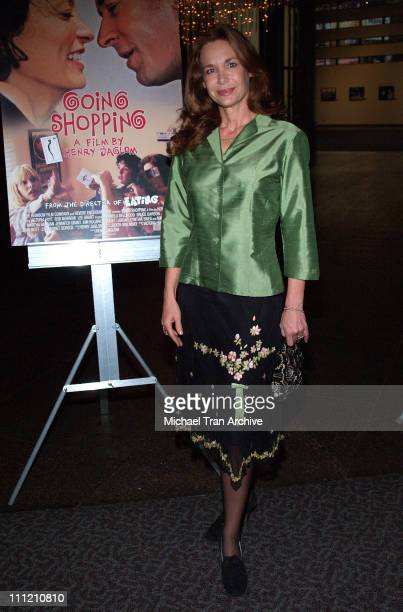 Mary Crosby during Going Shopping Los Angeles Premiere Arrivals at Directors Guild of America Theatre in Los Angeles California United States