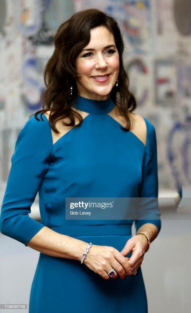 USA: HRH The Crown Princess of Denmark Visits Austin & Houston, Texas