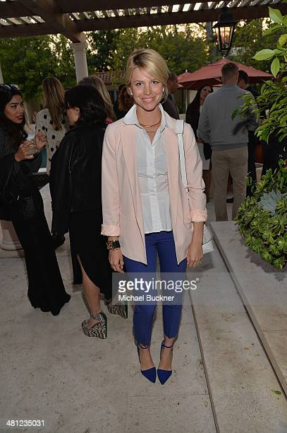 Mary Darling attends a reception to celebrate Rashida Jones' New Glamour Column hosted by Cindi Leive and Jane Buckingham at arivate residence on...