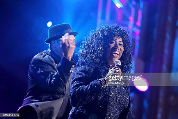 Mary Davis of The SOS Band onstage at BET Honors 2013 at Warner Theatre on January 12 2013 in Washington DC