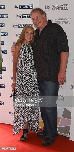 Mary Decker and Husband Richard Slaney attend the premiere of the Sky Atlantic original documentary feature 'The Fall' at Picturehouse Central on...