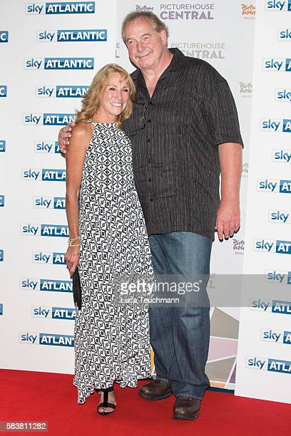 Mary Decker and Richard Slaney arrive for the premiere of Sky Atlantic original documentary feature 'The Fall' at Picturehouse Central on July 27...