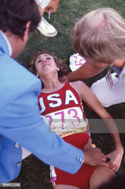 Mary Decker in Women's 3000 meter at the 1984 Summer Olympics