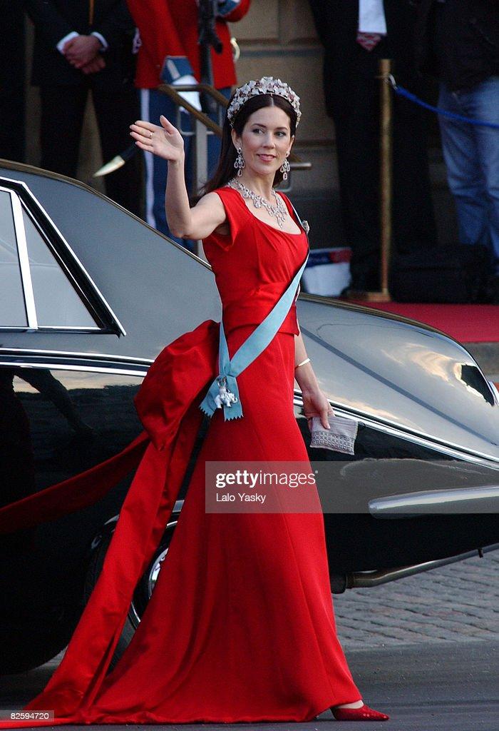 Pre Wedding Royal Opera Gala-Copenhagen - May 5, 2004 : News Photo