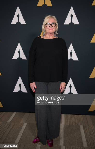 Mary E McLeod arrives at the Academy Of Motion Picture Arts And Sciences 35th Anniversary Screening Of A Christmas Story at Samuel Goldwyn Theater on...