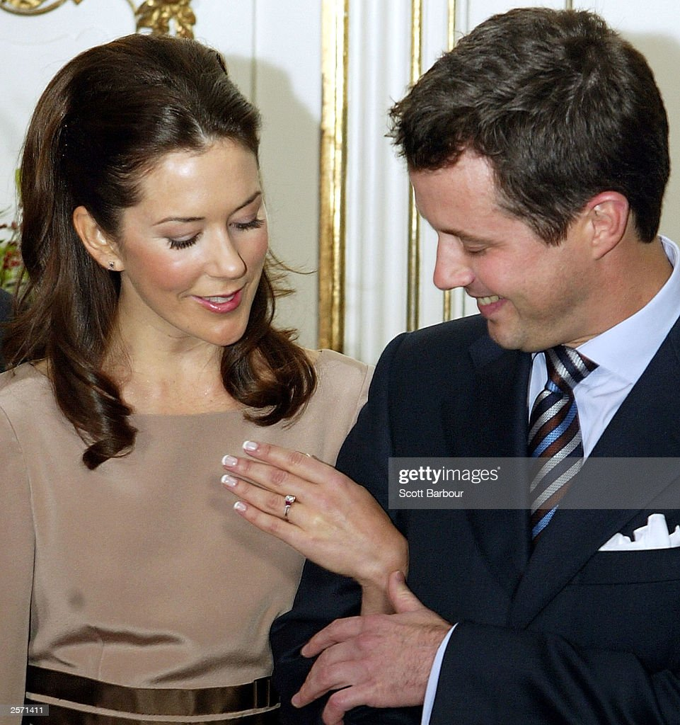 Crown Prince Frederik of Denmark And Mary Donaldson : News Photo