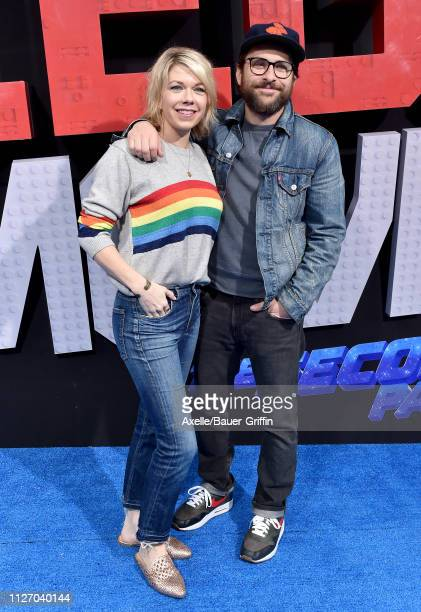 Mary Elizabeth Ellis and Charlie Day attend the premiere of Warner Bros Pictures' 'The Lego Movie 2 The Second Part' at Regency Village Theatre on...