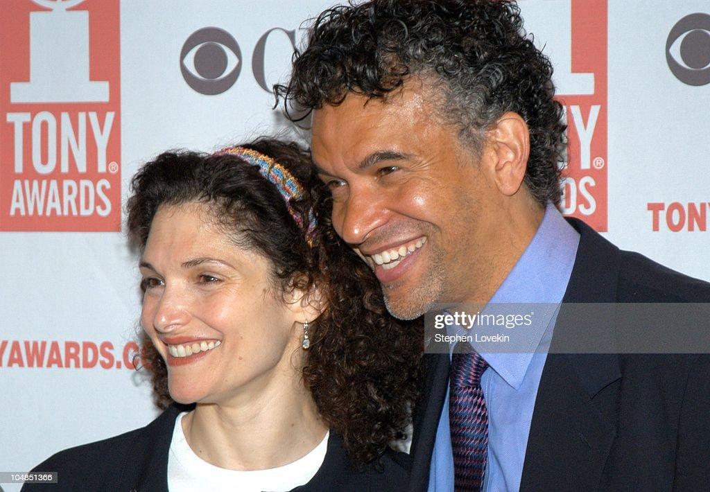 Mary Elizabeth Mastrantonio and Brian Stokes Mitchell