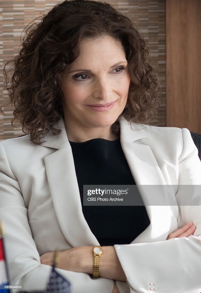 Mary Elizabeth Mastrantonio as Special Agent in Charge Nasreen 'Naz' Pouran in LIMITLESS on CBS Television Network.