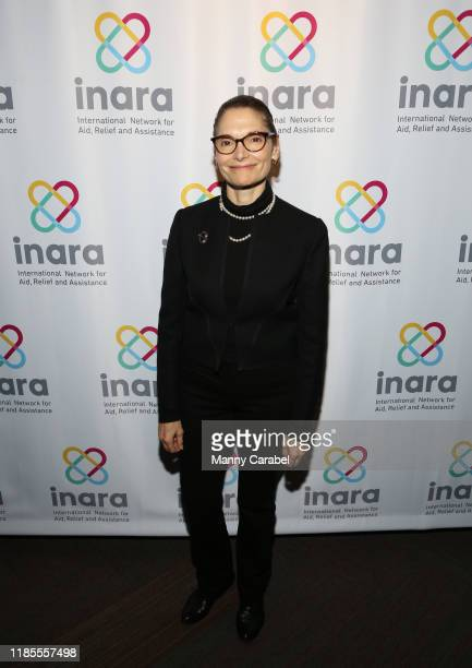 Mary Elizabeth Mastrantonio attends Songs For Syria at WP Theater on November 04 2019 in New York City
