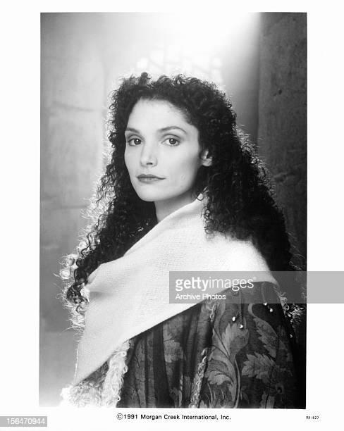 Mary Elizabeth Mastrantonio publicity portrait for the film 'Robin Hood Prince Of Thieves' 1991