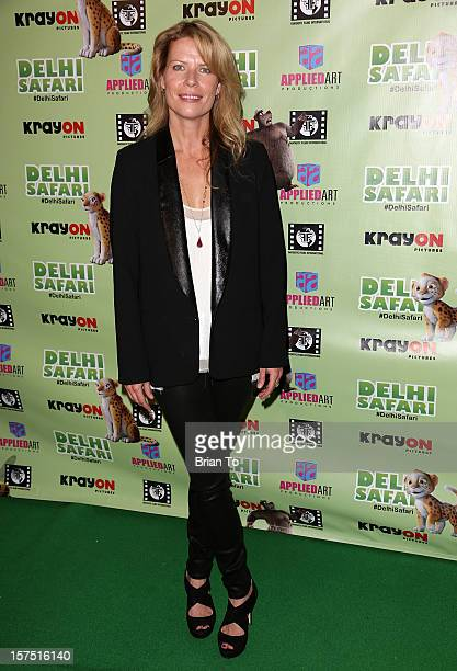 Mary Elizabeth McGlynn attends 'Delhi Safari' Los Angeles premiere at Pacific Theatre at The Grove on December 3 2012 in Los Angeles California