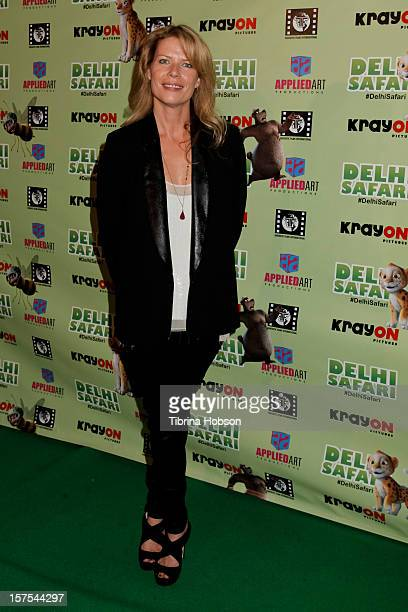 Mary Elizabeth McGlynn attends the Delhi Safari Los Angeles premiere at Pacific Theatre at The Grove on December 3 2012 in Los Angeles California