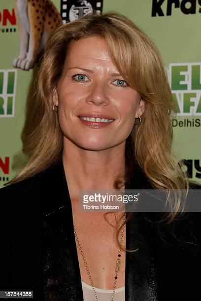 Mary Elizabeth McGlynn attends the Delhi Safari Los Angeles premiere at Pacific Theatre at The Grove on December 3 2012 in Los Angeles California