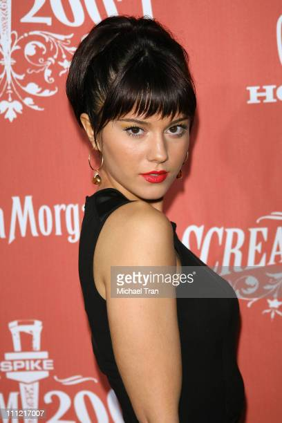 Mary Elizabeth Winstead arrives at the 2007 Spike TV Scream Awards at The Greek Theater on October 19 2007 in Los Angeles California
