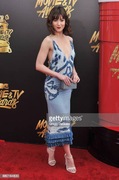 Mary Elizabeth Winstead arrives at the 2017 MTV Movie And TV Awards at The Shrine Auditorium on May 7 2017 in Los Angeles California